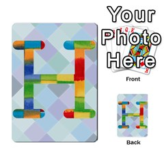 Abc Flash Cards By Crystal Rawl   Multi Purpose Cards (rectangle)   Eq132vxdo4je   Www Artscow Com Front 8
