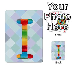 Abc Flash Cards By Crystal Rawl   Multi Purpose Cards (rectangle)   Eq132vxdo4je   Www Artscow Com Front 9