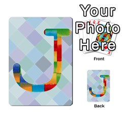 Abc Flash Cards By Crystal Rawl   Multi Purpose Cards (rectangle)   Eq132vxdo4je   Www Artscow Com Front 10