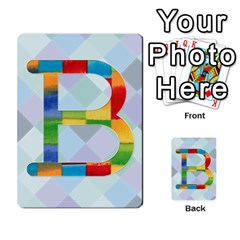 Abc Flash Cards By Crystal Rawl   Multi Purpose Cards (rectangle)   Eq132vxdo4je   Www Artscow Com Front 2