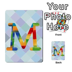 Abc Flash Cards By Crystal Rawl   Multi Purpose Cards (rectangle)   Eq132vxdo4je   Www Artscow Com Front 13