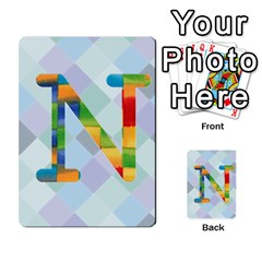 Abc Flash Cards By Crystal Rawl   Multi Purpose Cards (rectangle)   Eq132vxdo4je   Www Artscow Com Front 14