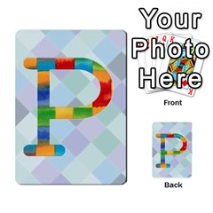 Abc Flash Cards By Crystal Rawl   Multi Purpose Cards (rectangle)   Eq132vxdo4je   Www Artscow Com Front 16
