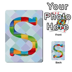 Abc Flash Cards By Crystal Rawl   Multi Purpose Cards (rectangle)   Eq132vxdo4je   Www Artscow Com Front 18