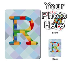 Abc Flash Cards By Crystal Rawl   Multi Purpose Cards (rectangle)   Eq132vxdo4je   Www Artscow Com Front 20