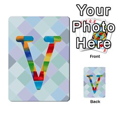 Abc Flash Cards By Crystal Rawl   Multi Purpose Cards (rectangle)   Eq132vxdo4je   Www Artscow Com Front 22