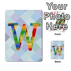 Abc Flash Cards By Crystal Rawl   Multi Purpose Cards (rectangle)   Eq132vxdo4je   Www Artscow Com Front 23