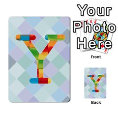 Abc Flash Cards By Crystal Rawl   Multi Purpose Cards (rectangle)   Eq132vxdo4je   Www Artscow Com Front 25