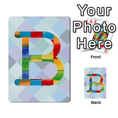Abc Flash Cards By Crystal Rawl   Multi Purpose Cards (rectangle)   Eq132vxdo4je   Www Artscow Com Front 28