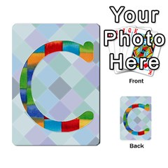 Abc Flash Cards By Crystal Rawl   Multi Purpose Cards (rectangle)   Eq132vxdo4je   Www Artscow Com Front 29