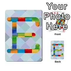 Abc Flash Cards By Crystal Rawl   Multi Purpose Cards (rectangle)   Eq132vxdo4je   Www Artscow Com Front 31