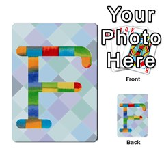 Abc Flash Cards By Crystal Rawl   Multi Purpose Cards (rectangle)   Eq132vxdo4je   Www Artscow Com Front 32
