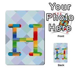 Abc Flash Cards By Crystal Rawl   Multi Purpose Cards (rectangle)   Eq132vxdo4je   Www Artscow Com Front 34