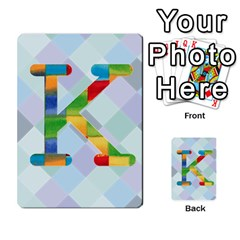 Abc Flash Cards By Crystal Rawl   Multi Purpose Cards (rectangle)   Eq132vxdo4je   Www Artscow Com Front 37