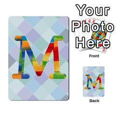 Abc Flash Cards By Crystal Rawl   Multi Purpose Cards (rectangle)   Eq132vxdo4je   Www Artscow Com Front 39