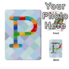 Abc Flash Cards By Crystal Rawl   Multi Purpose Cards (rectangle)   Eq132vxdo4je   Www Artscow Com Front 42