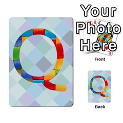 Abc Flash Cards By Crystal Rawl   Multi Purpose Cards (rectangle)   Eq132vxdo4je   Www Artscow Com Front 43