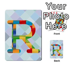 Abc Flash Cards By Crystal Rawl   Multi Purpose Cards (rectangle)   Eq132vxdo4je   Www Artscow Com Front 44