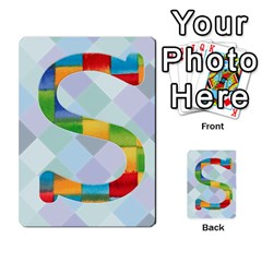 Abc Flash Cards By Crystal Rawl   Multi Purpose Cards (rectangle)   Eq132vxdo4je   Www Artscow Com Front 45