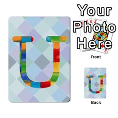 Abc Flash Cards By Crystal Rawl   Multi Purpose Cards (rectangle)   Eq132vxdo4je   Www Artscow Com Front 47