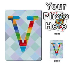 Abc Flash Cards By Crystal Rawl   Multi Purpose Cards (rectangle)   Eq132vxdo4je   Www Artscow Com Front 48