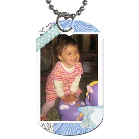 Heart2 By Asya   Dog Tag (one Side)   Anyvyeuv3cys   Www Artscow Com Front