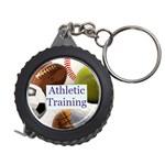 Sports ball tape measure key chain 5 - Measuring Tape