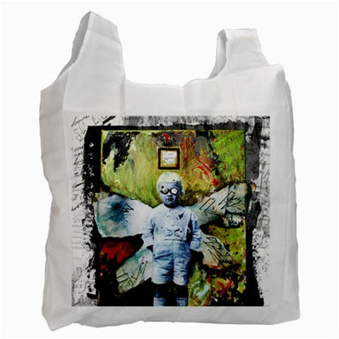 By Jessica   Recycle Bag (one Side)   Noqg84u5orcu   Www Artscow Com Front