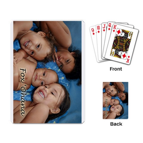 Kida Cards By Charray   Playing Cards Single Design   Iapkm4kwpcgu   Www Artscow Com Back
