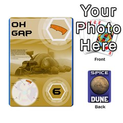 Dune Spice Set1 2sets By Gabriel   Playing Cards 54 Designs   Bn2n7q0bbx2z   Www Artscow Com Front - Spade4