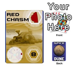Dune Spice Set1 2sets By Gabriel   Playing Cards 54 Designs   Bn2n7q0bbx2z   Www Artscow Com Front - Diamond7