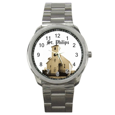 Mens Watch For St  Philips By Chantel Reid Demeter   Sport Metal Watch   Mhhzhs6y6125   Www Artscow Com Front