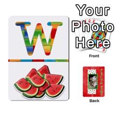 Jack New Flash Cards By Brookieadkins Yahoo Com   Playing Cards 54 Designs   Tcmyo8zjddqm   Www Artscow Com Front - HeartJ