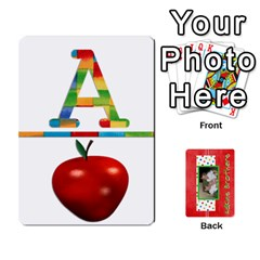 New Flash Cards By Brookieadkins Yahoo Com   Playing Cards 54 Designs   Tcmyo8zjddqm   Www Artscow Com Front - Diamond2