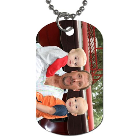 Dog Tag By Michele Sanders   Dog Tag (one Side)   Ev2mkpwsgooi   Www Artscow Com Front