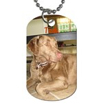 teak - Dog Tag (One Side)