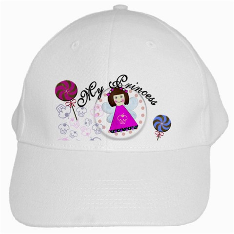 Princess By Valerie Creation   White Cap   Vflmsbomtf04   Www Artscow Com Front