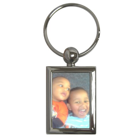 Keyring By Ishah Clay   Key Chain (rectangle)   Cawuebjgu9ae   Www Artscow Com Front