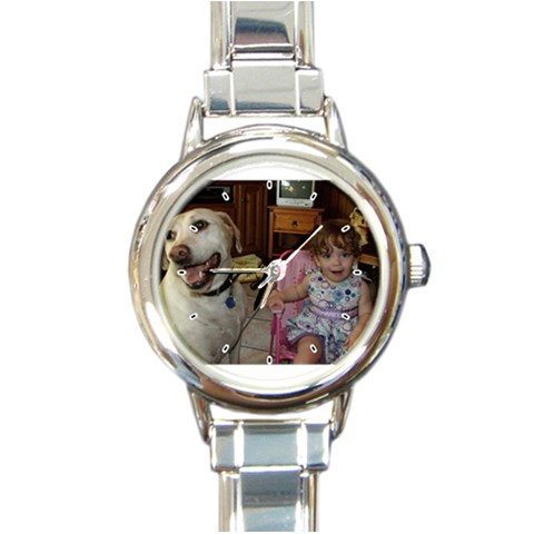 Watch For Mom By Jessica   Round Italian Charm Watch   Vdgauiuupn67   Www Artscow Com Front