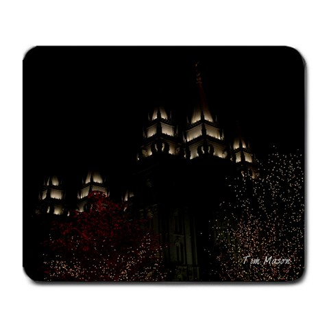 Tims Mousepad By Julie   Large Mousepad   2fay67eoz43n   Www Artscow Com Front