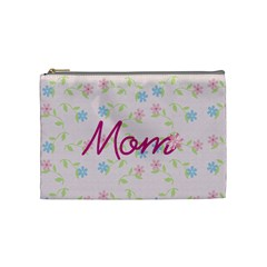 Cosmetic Case Mom By Jennyl   Cosmetic Bag (medium)   561052x39peu   Www Artscow Com Front