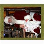 Santa - Collage 8  x 10