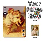 dogs, cats and children by helen norton - Playing Cards 54 Designs