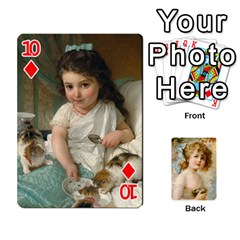 Dogs, Cats And Children By Helen Norton By Helen   Playing Cards 54 Designs   Jiv7hindenbs   Www Artscow Com Front - Diamond10