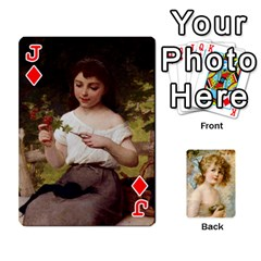 Jack Dogs, Cats And Children By Helen Norton By Helen   Playing Cards 54 Designs   Jiv7hindenbs   Www Artscow Com Front - DiamondJ