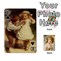 Dogs, Cats And Children By Helen Norton By Helen   Playing Cards 54 Designs   Jiv7hindenbs   Www Artscow Com Front - Spade10