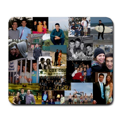 Zach Mouse Pad By Terri   Collage Mousepad   Dzjve7yatst5   Www Artscow Com 9.25 x7.75 Mousepad - 1