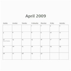 2009 Nature Calendar By Michele Sanders   Wall Calendar 11  X 8 5  (12 Months)   Hy2ume0pu6pt   Www Artscow Com Apr 2009
