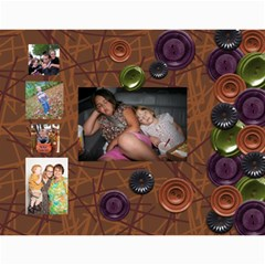 Brown Family Calendar By Shelly   Wall Calendar 11  X 8 5  (12 Months)   Gyxbncz1d6um   Www Artscow Com Month