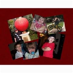 2009family By Julie Guess   Wall Calendar 11  X 8 5  (12 Months)   E136qtijzkde   Www Artscow Com Month